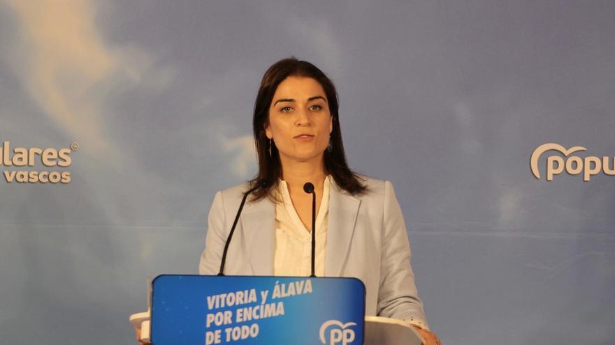 """Comerón pide a los nacionalistas """"descontentos"""" que voten al Partido Popular en Vitoria"""