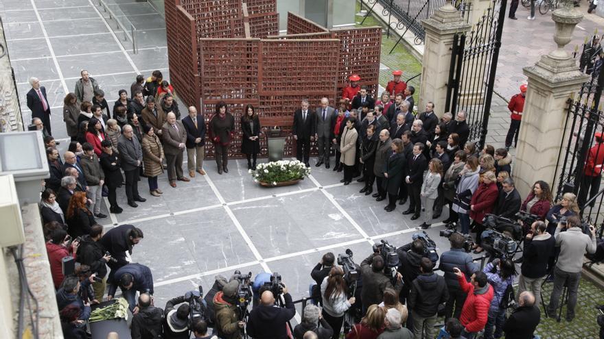 Acto central del Día de la Memoria, en el Parlamento Vasco
