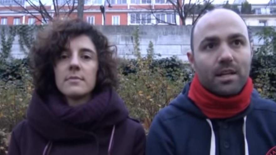 Imagen de uno de los vídeos de la campaña 'Vuelve Sin Sanidad' de la Marea Granate y Yo Sí, Sanidad Universal.