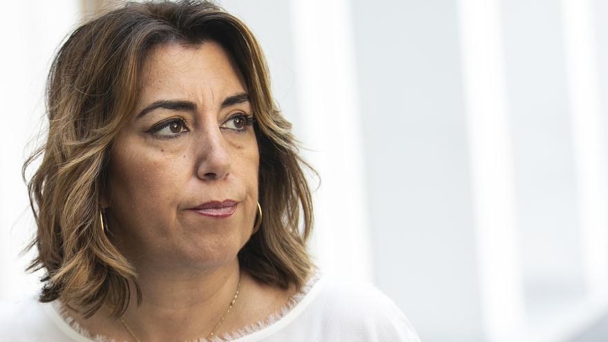 """Susana Díaz afirma que una bajada menor a la del pasado año evidencia """"desaceleración económica"""""""