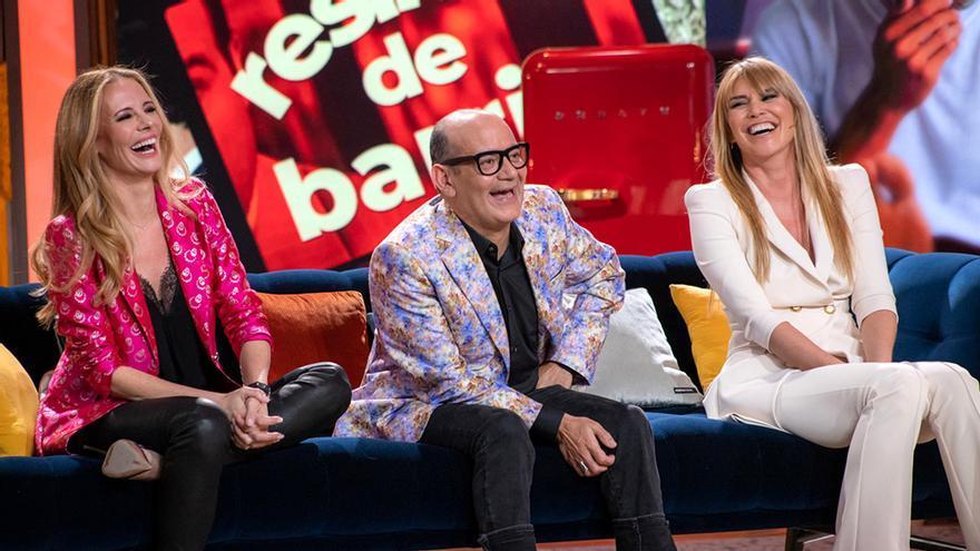 Paula Vázquez, José Corbacho y Raquel Meroño en 'La Noche D'