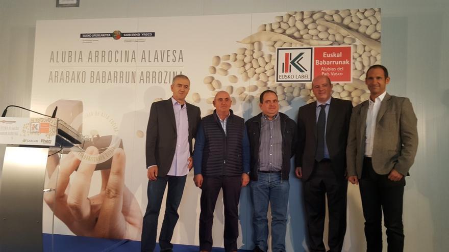 La alubia arrocina de Álava obtiene el distintivo de calidad Eusko Label
