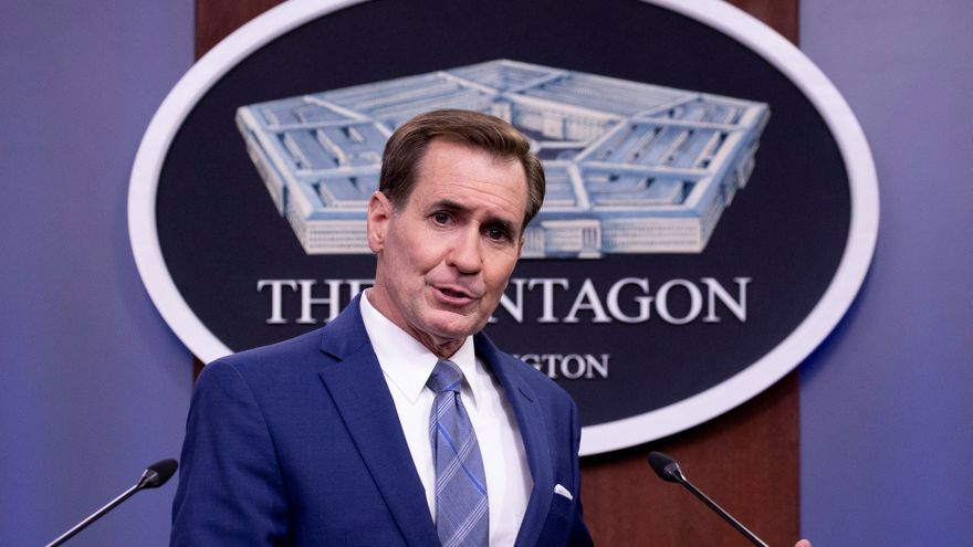 Cazas de EE.UU. sobrevuelan Kabul para garantizar la seguridad, dice el Pentágono