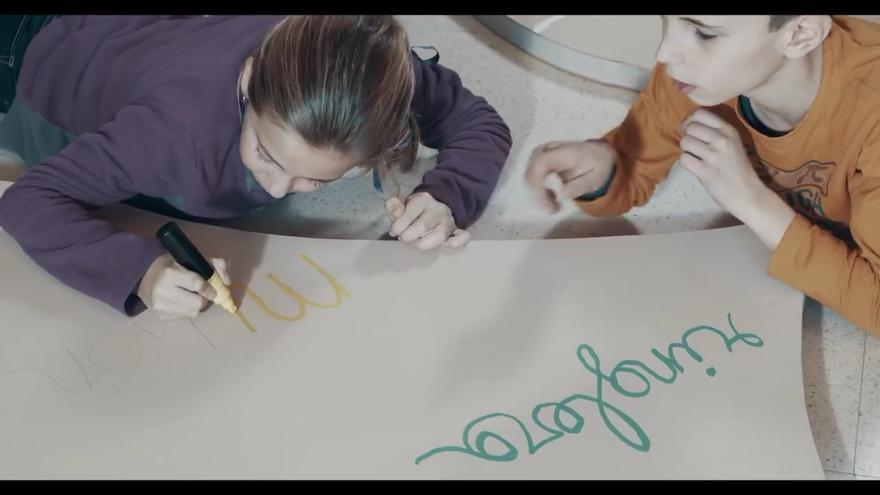 La enseñanza del aragonés en las aulas comenzó hace 20 años.