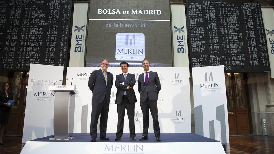 UBS y Goldman Sachs declaran un 11,5% y un 6% de la socimi Merlín