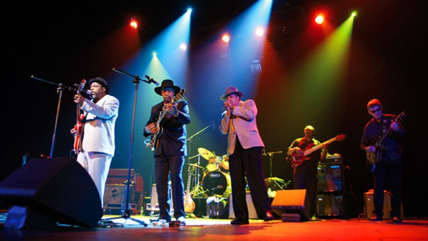 'Chicago Blues: A Living History', durante una actuación.