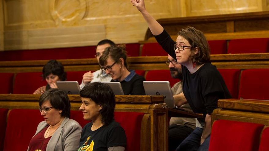 La CUP ve irrenunciable que el IRPF suba para las rentas catalanas más altas