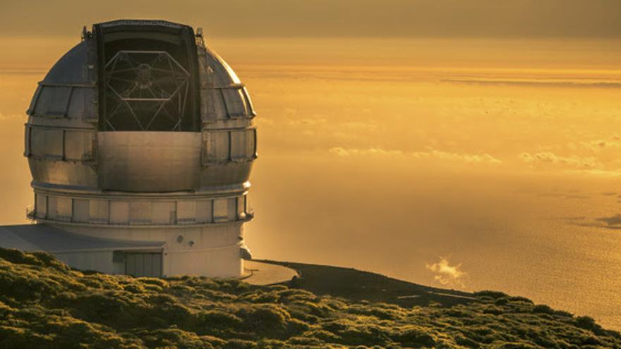 Imagen del Gran Telescopio Canarias.