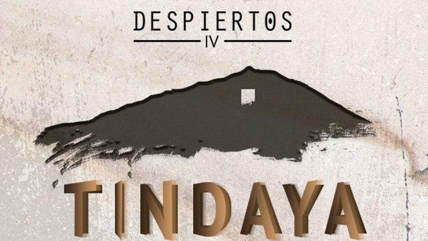 Cartel que anuncia las proyecciones del documental 'Despiertos en Tindaya'