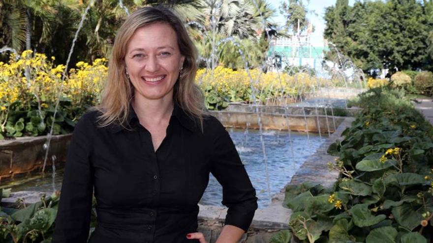 Victoria Rosell, candidata de Podemos al Congreso por la provincia de Las Palmas. (EFE)