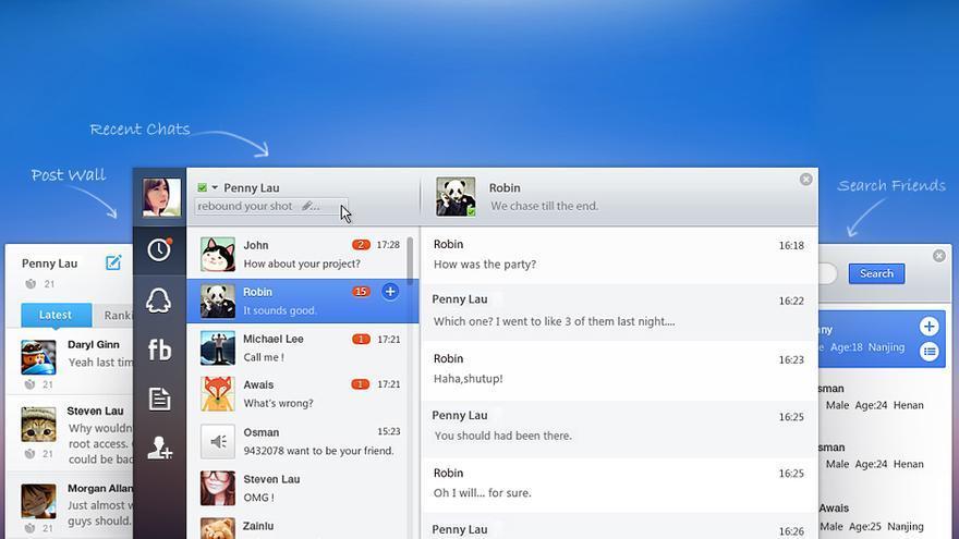 El chat de Tencent, QQ, es una de las aplicaciones más imprescindibles en China