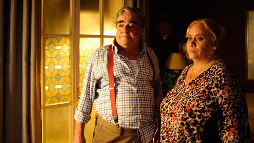 Paco Casaus con Carmina Barrios en 'Carmina o revienta'