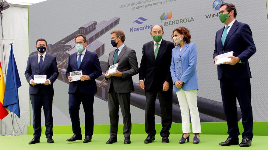 Montero ve en pacto Iberdrola, Navantia y Windar esperanza a zona Ferrolterra