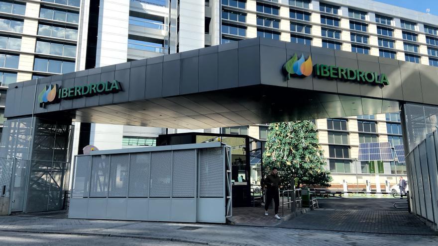 Edificio de la sede de Iberdrola en Madrid.