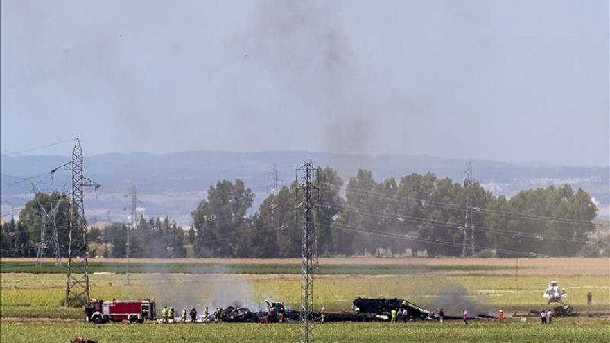 """S.Santamaría garantiza una """"investigación rigurosa y exhaustiva"""" sobre el avión"""