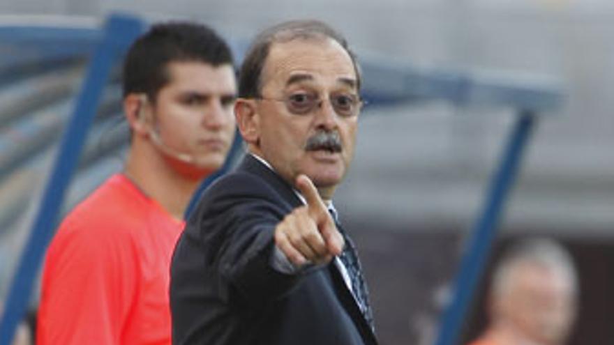 Sergio Kresic, entrenador de la UD Las Palmas. (QUIQUE CURBELO)