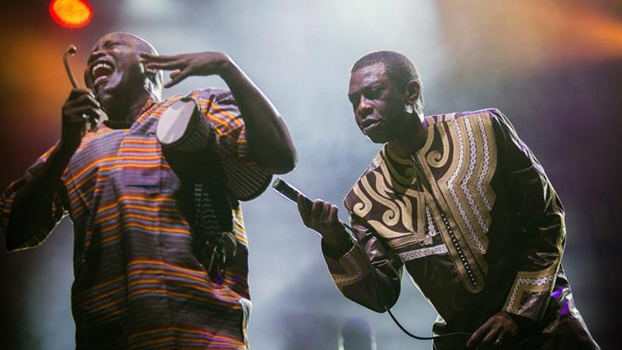 Youssou N'Dour convierte el Rototom en una fiesta africana