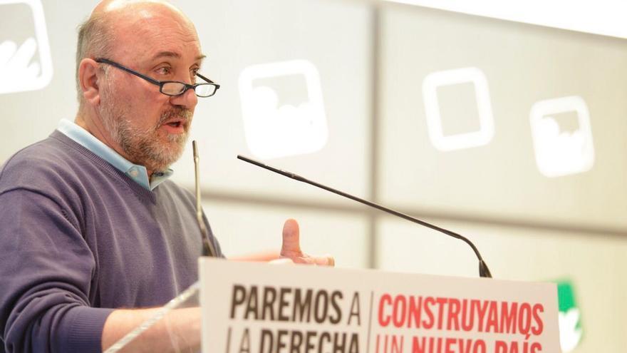 José Luis Álvarez-Castellanos, coordinador regional de Izquierda Unida