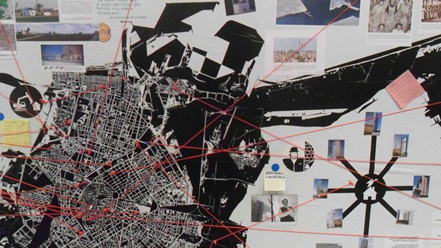 Rogelio López Cuenca presenta en el IVAM su cartografía de la ciudad.