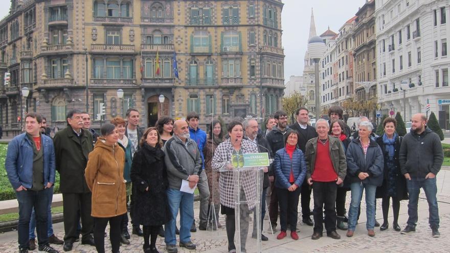 """EH Bildu dice que """"Euskal Herria está en marcha"""" y construirá su futuro """"sin pedir permiso a nadie"""""""