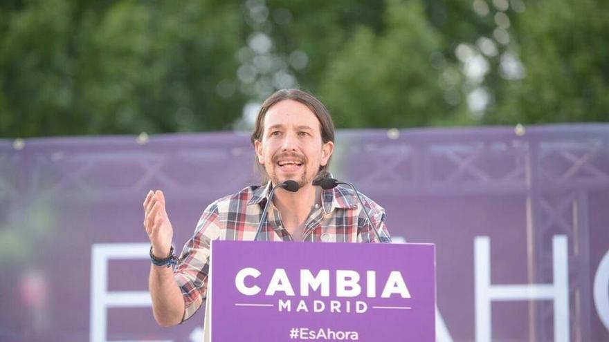 Podemos cerrará campaña en el Parque Tierno Galván en un guiño a los socialistas desencantados con el PSOE
