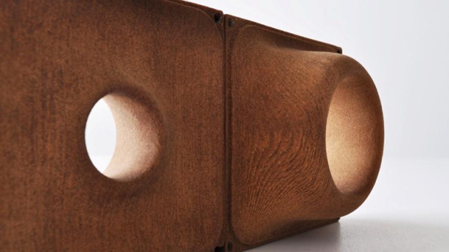 Uno de los objetos con los que se ha utilizado madera para su impresión