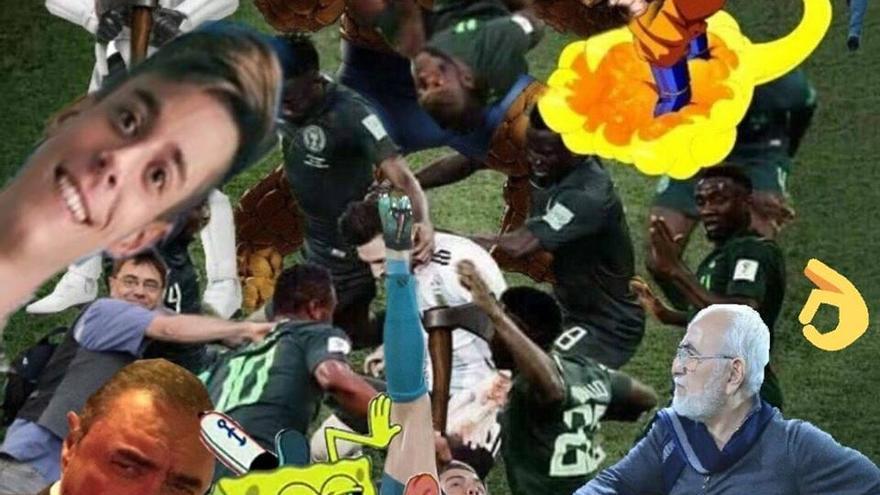 Meme de Messi rodeado (3)