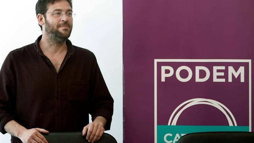 """Dirección de Podem apoya referéndum sin acuerdo como """"acto de movilización"""""""