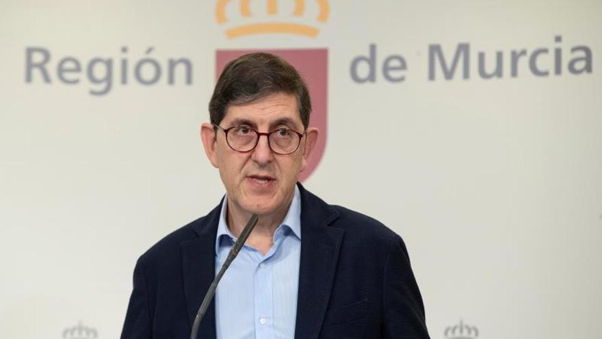 Manuel Villegas, consejero de Salud de Murcia