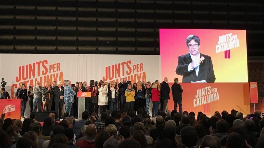 """El PDeCAT dice que Puigdemont puede volver cuando quiera y que su vuelta sería """"un reto democrático"""" para España"""