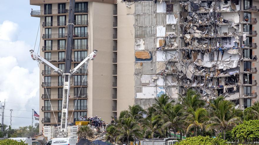 La madre de un policía, la 12 víctima mortal del derrumbe en Miami-Dade