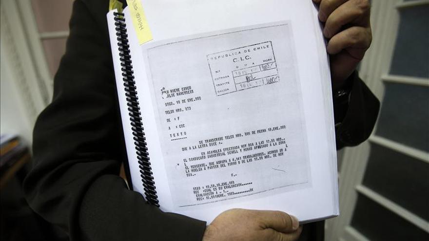 Documentos desclasificados de la dictadura evidencian espionaje a chilenos