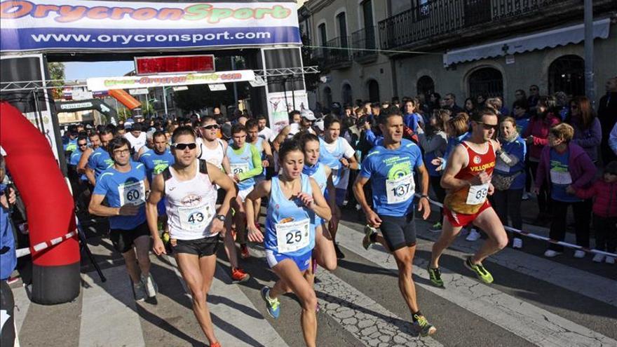 Álvaro García y Lourdes Lobato ganan la Carrera de la Diabetes en Ciudad Rodrigo