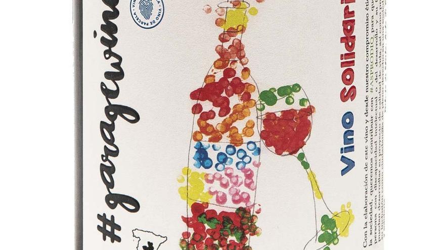 Etiqueta del nuevo vino solidario