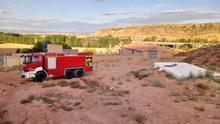 Los bomberos de la Diputación de Teruel suministran 2,3 millones de litros de agua en 2019