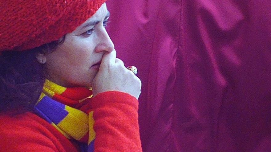 Paqui Maqueda, de la Plataforma Andaluza de Apoyo a la Querella Argentina.