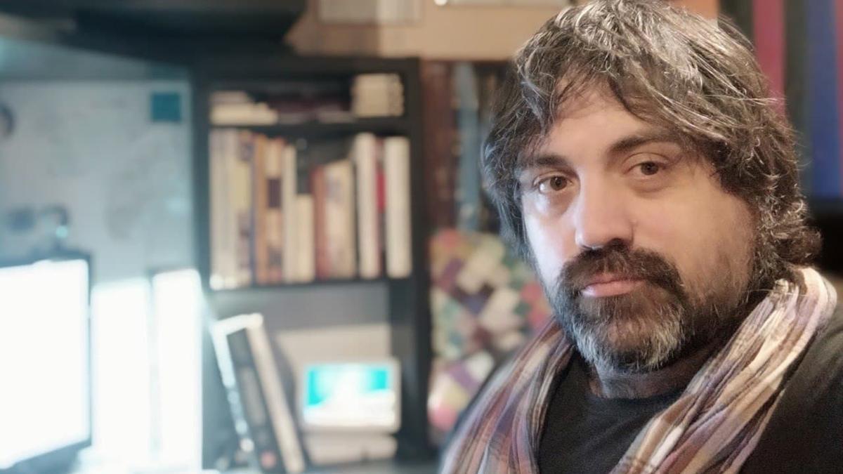 El periodista Aser Falagán.