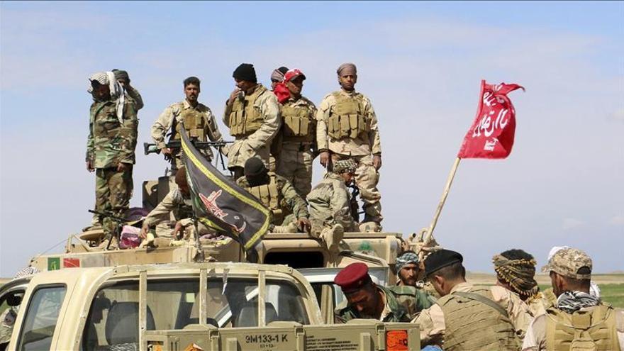 Las fuerzas iraquíes expulsan al EI de la ciudad de Al Dur, cerca de Tikrit