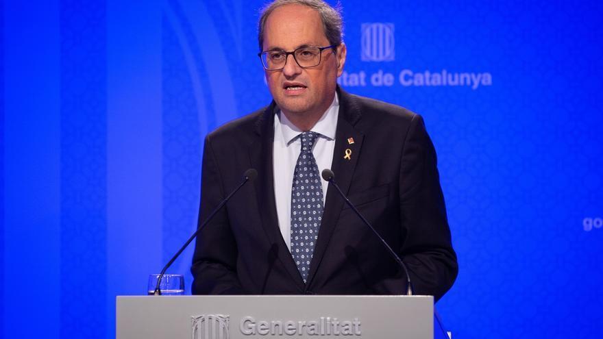 """Torra pide """"mucha precaución"""" por el temporal en Cataluña"""