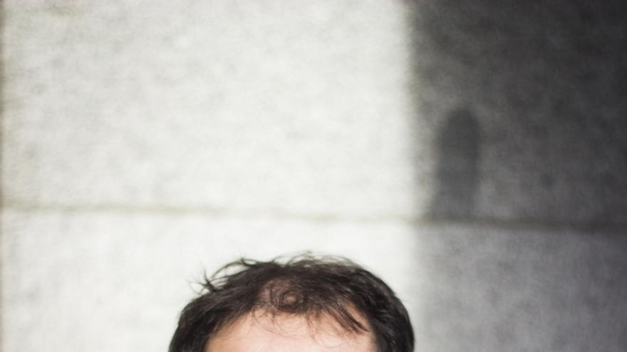 El escritor Agustín Márquez