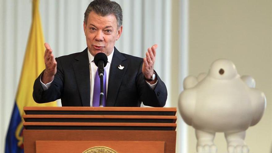 El presidente Santos reitera la urgencia de implementar el acuerdo de paz con las FARC