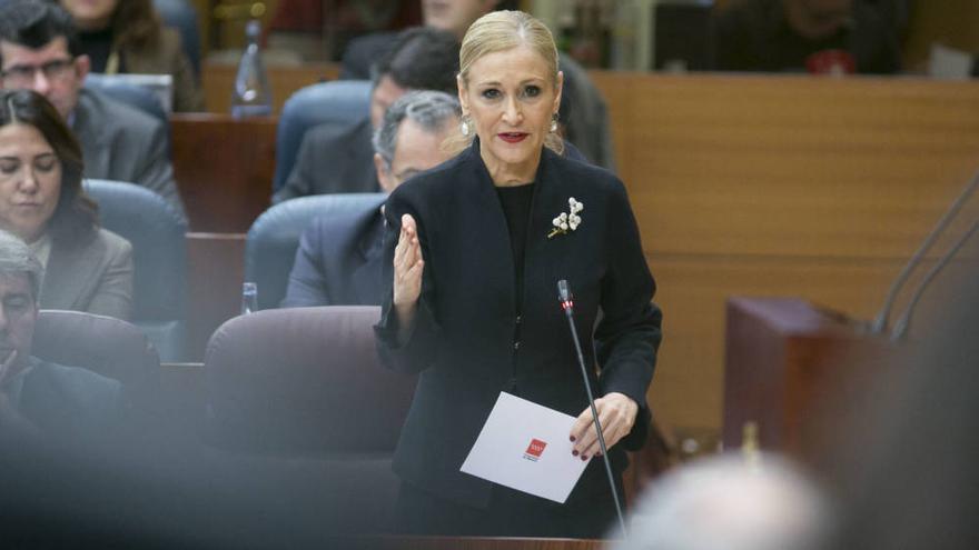Cristina Cifuentes, presidenta de la Comunidad de Madrid. EFE
