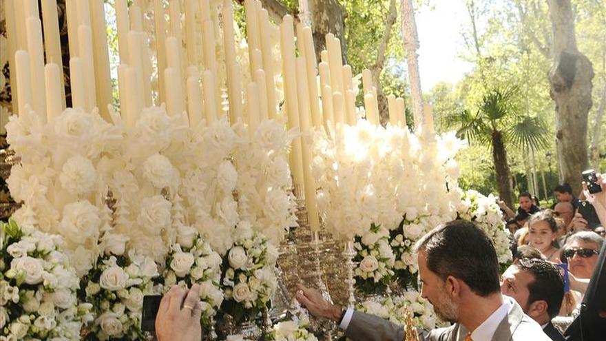 El Rey asiste a la Semana Santa de Sevilla