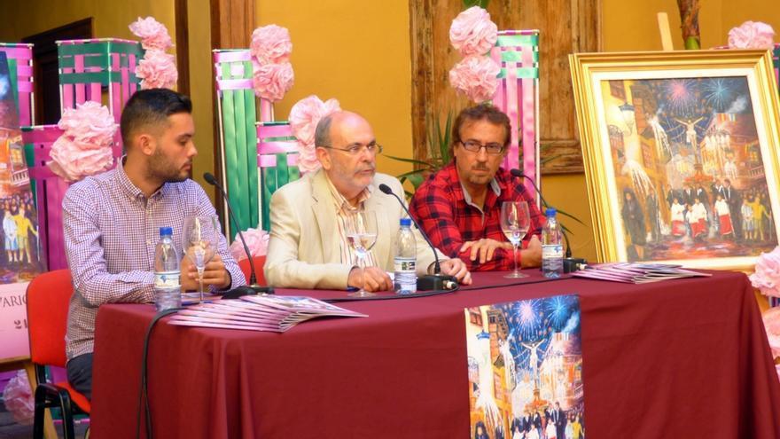 José Ramón León, alcalde de Icod, en la presentación de las fiestas mayores del municipio