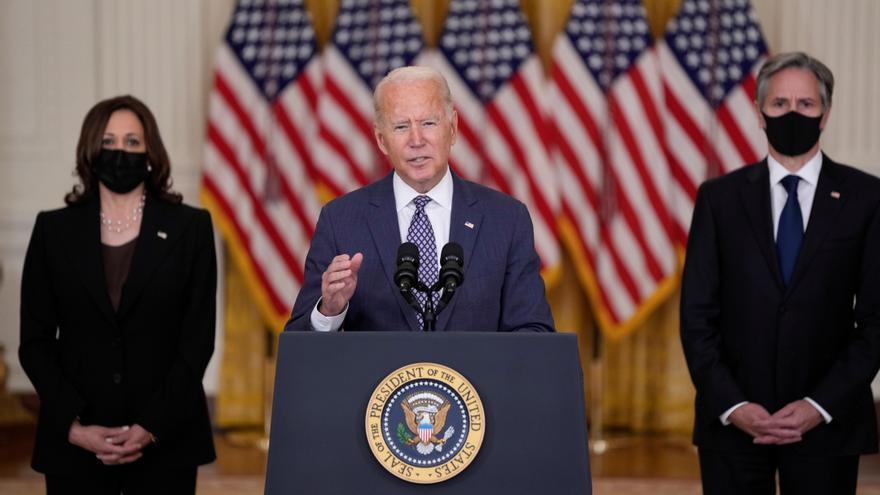 Biden: La evacuación de Afganistán es una de las más difíciles de la historia