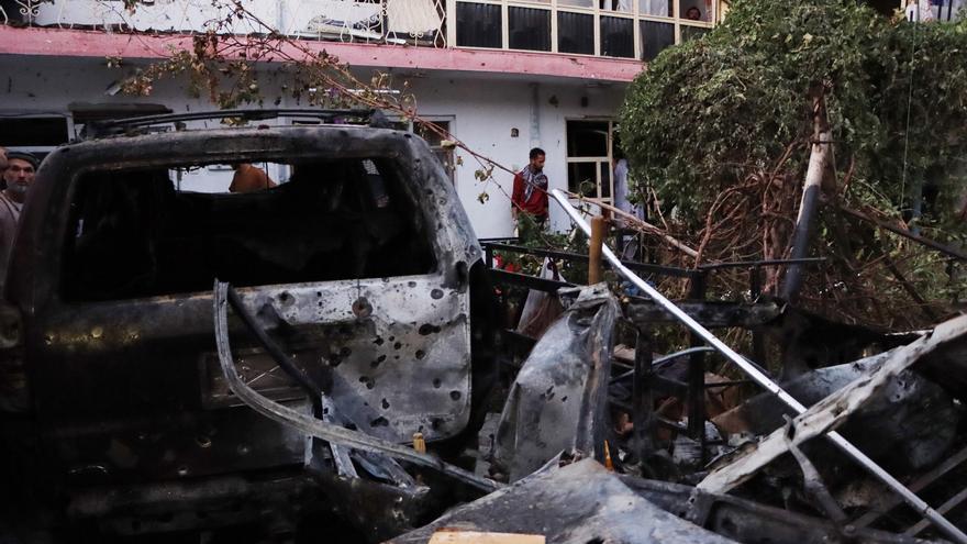Varias explosiones golpean la ciudad de Kabul