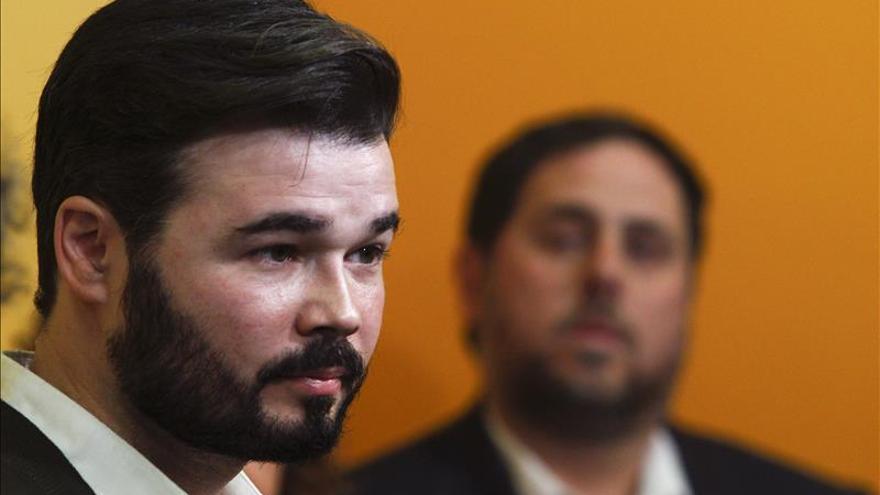 """ERC llama a no ceder al """"chantaje"""" de un Montoro que busca generar """"miedo"""""""
