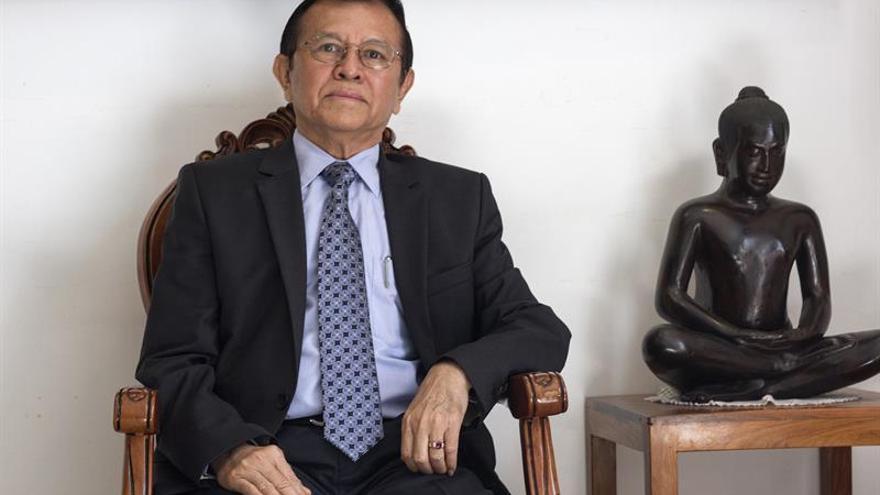 Un líder opositor camboyano es amnistiado tras eludir el arresto durante 6 meses
