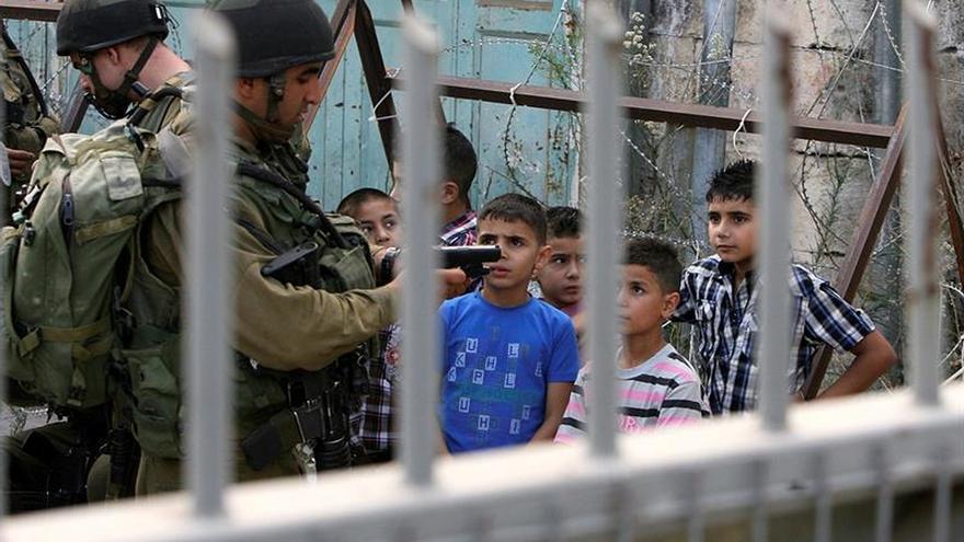 Betselem acusa a las fuerzas israelíes de intimidar a menores palestinos