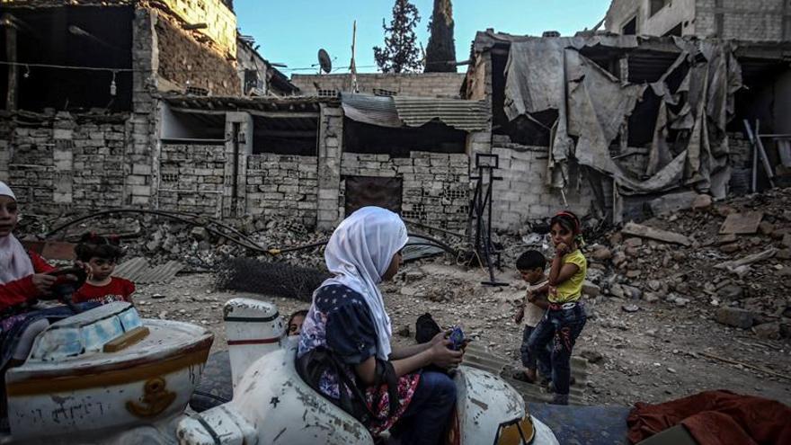 Rusia difunde en directo imágenes desde la provincia siria de Alepo